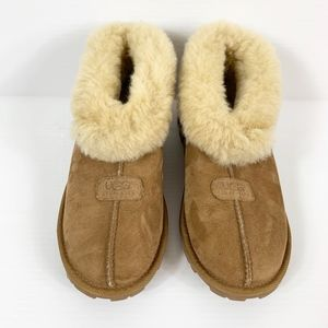 Ugg Sheila Slippers or Booties Women's Size 7 Tan